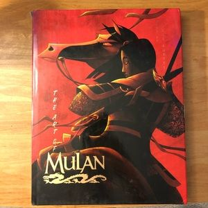 Disney's The Art Of Mulan Book